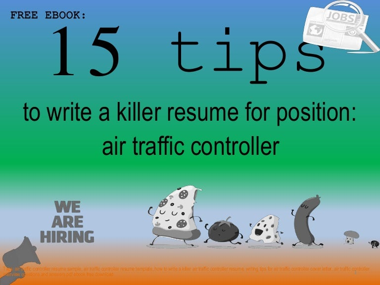 Air traffic controller resume sample pdf ebook
