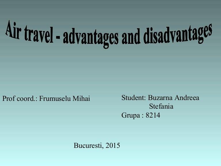 Air Travel Advantages And Disadvantages