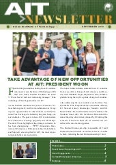 AIT Newsletter September 2019