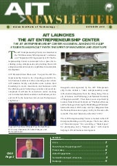 AIT newsletter October 2019