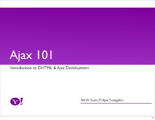 Ajax 101 Workshop