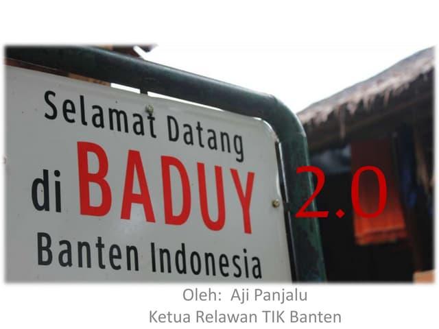 SB-1 Baduy 2.0