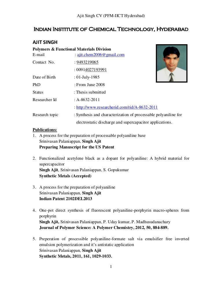 resume to job
