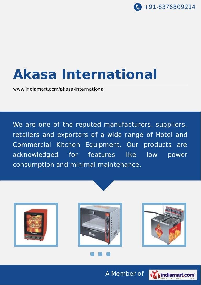 Akasa International, New Delhi, Commercial Pizza Ovens