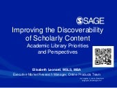 ALA midwinter (Chicago) 2015 discovery white paper