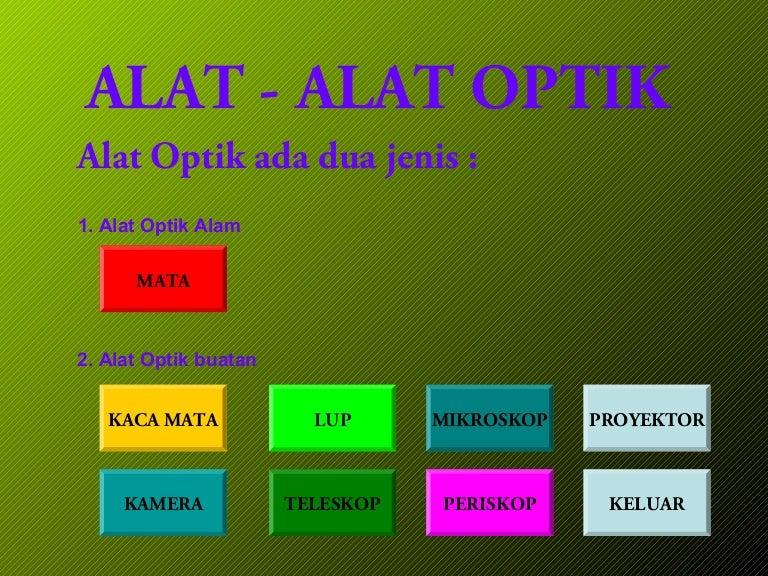 Alat Alat Optik