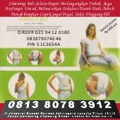 Alat pelangsing badan slimming belt 081380783912