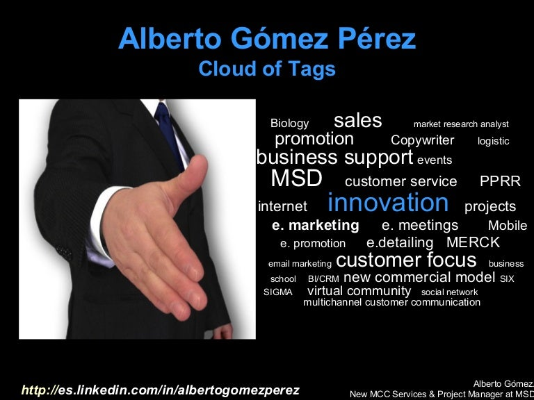 Alberto Gómez Cloudoftags