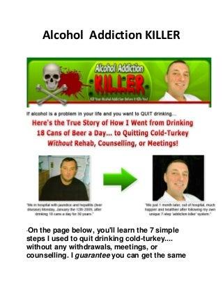 alcohol addiction quit