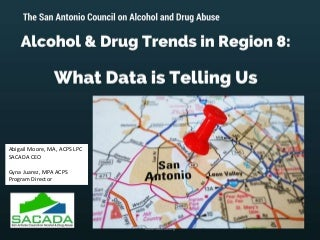 Alcohol and drug trends within Region 8