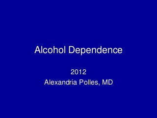 alcohol problem use