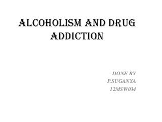 Causes Of Alcohol Addiction