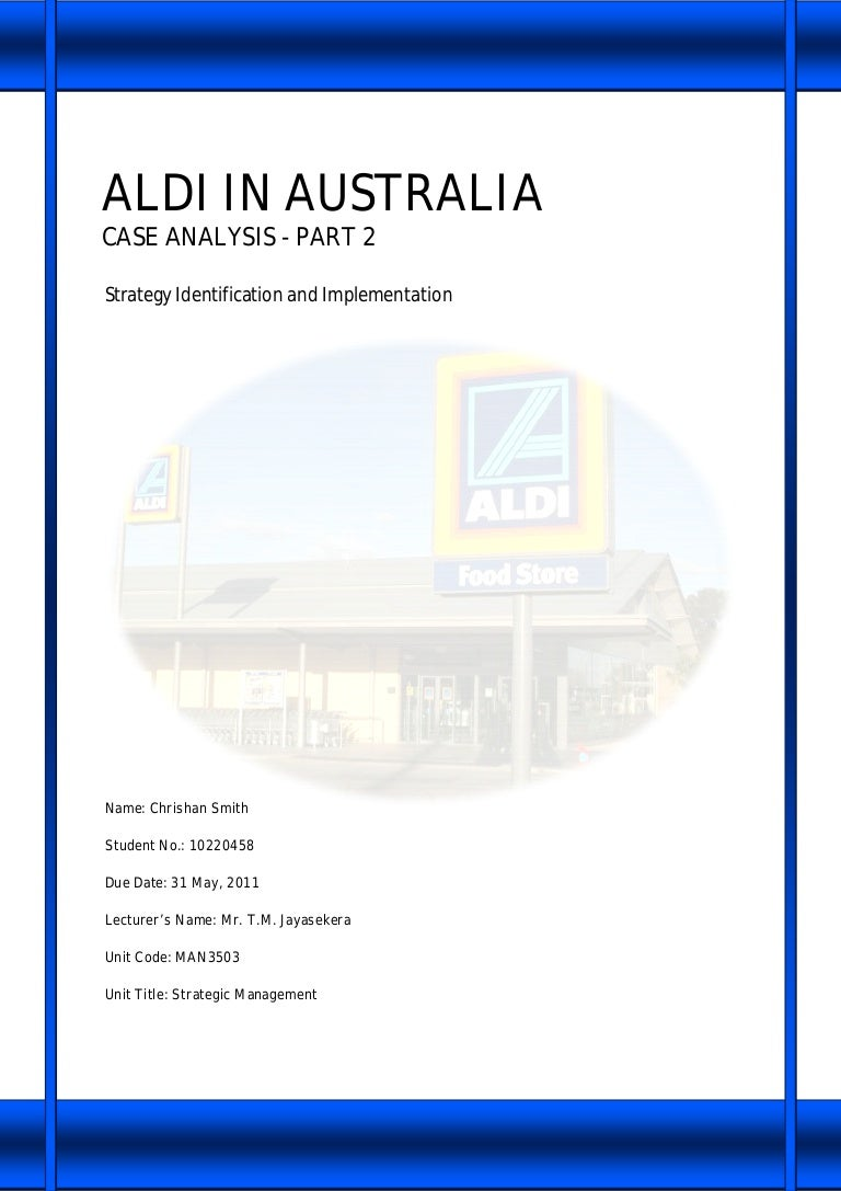 aldi success factors