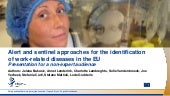 Alert and sentinel approaches for the identification of work-related diseases in the EU