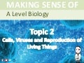 A level Biology - Cells, Viruses and Reproduction of Living Things