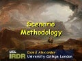 Scenario Methodoology