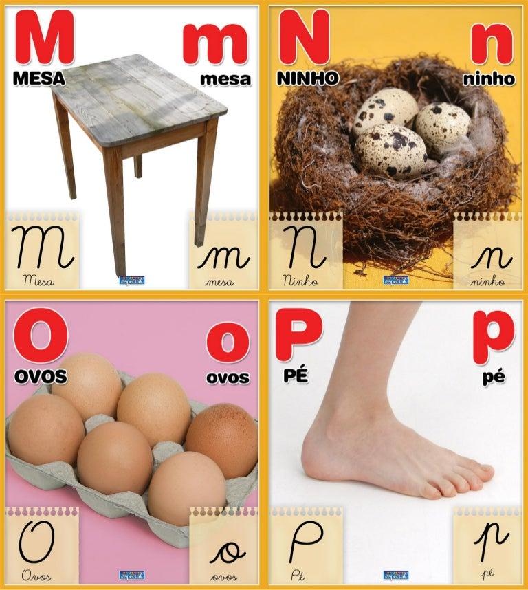 Alfabeto De Imagens Reais