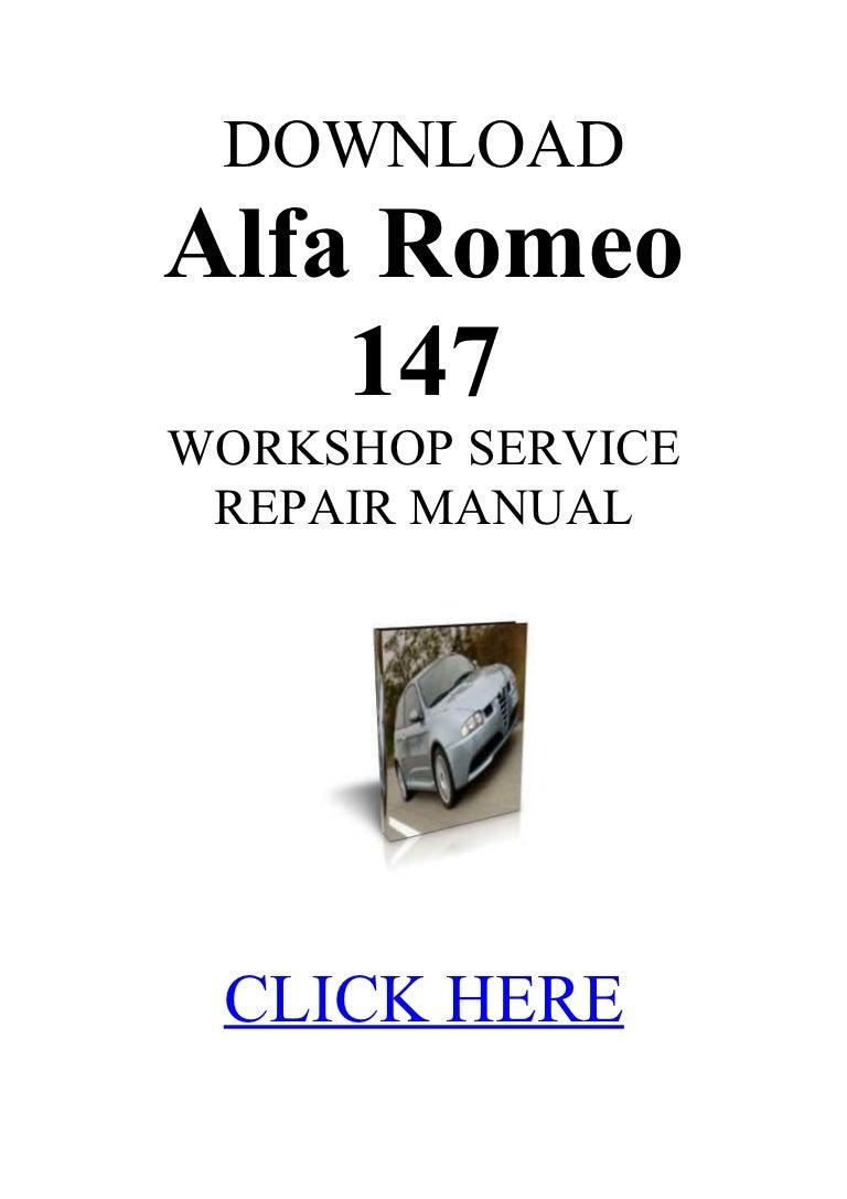 alfa romeo 147 workshop manual operating manual guide u2022 rh astra freewayprojects com alfa romeo 147 workshop manual pdf alfa 147 workshop manual