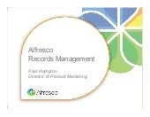 Alfresco Records Management  2.0