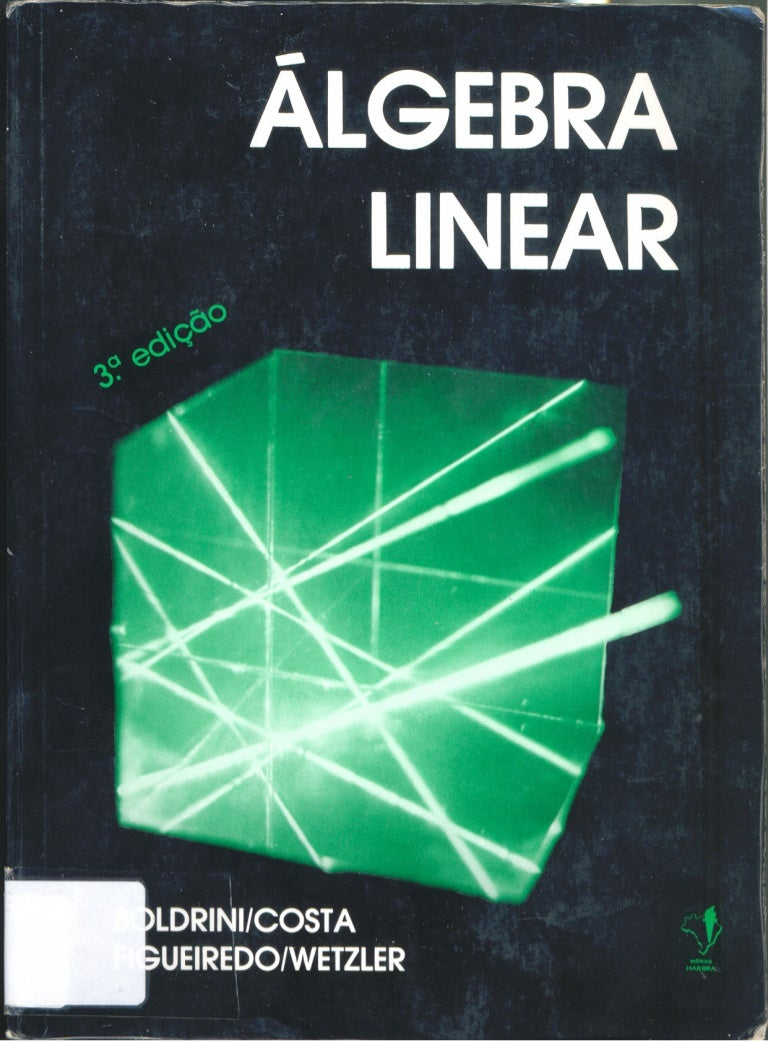 livro algebra linear boldrini costa