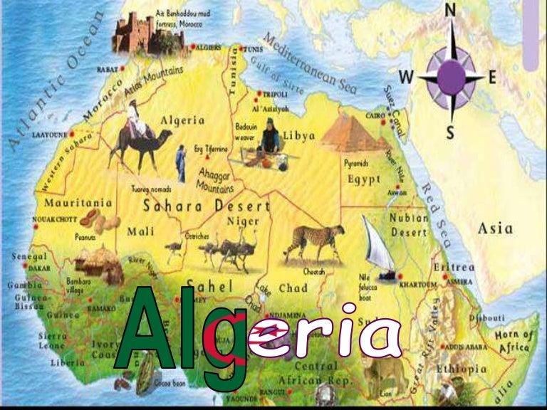 Algeriafinalphpappthumbnailjpgcb - Algeria physical map