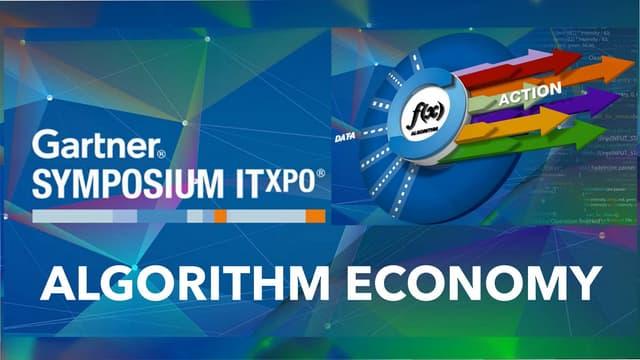 Algorithm Economy Gartner Opening Keynote ITXPO 2015