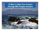 10 Tips for Aligning Content Strategy with Google Analytics
