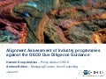 Alignment Assessment of industry programmes against the OECD Due Diligence Guidance for responsible mineral supply chains