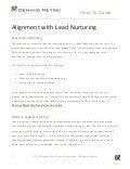 Align Sales and Marketing with Lead Nurturing