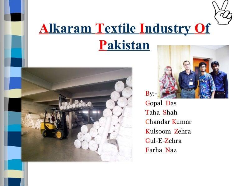 Alkaram textile mill project