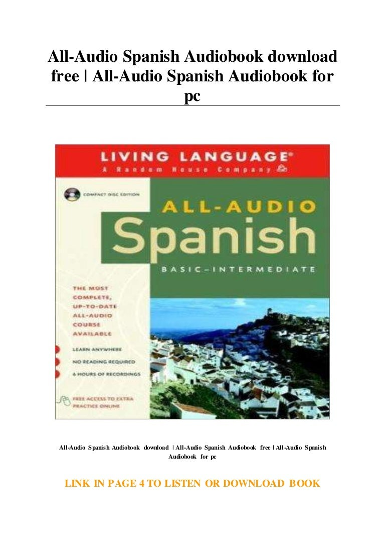 All Audio Spanish Audiobook download free   All Audio Spanish Audiobo…