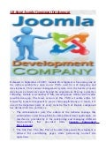 All about joomla component development