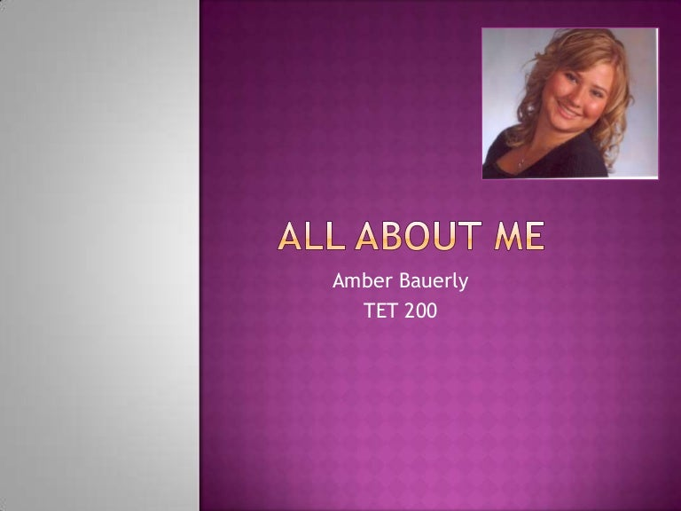 all about me powerpoint, Presentation templates