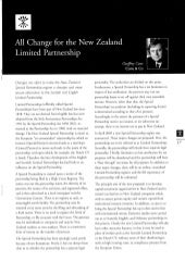 All Change for the New Zealand Limited Partnership - Rothschild - Winter 2005