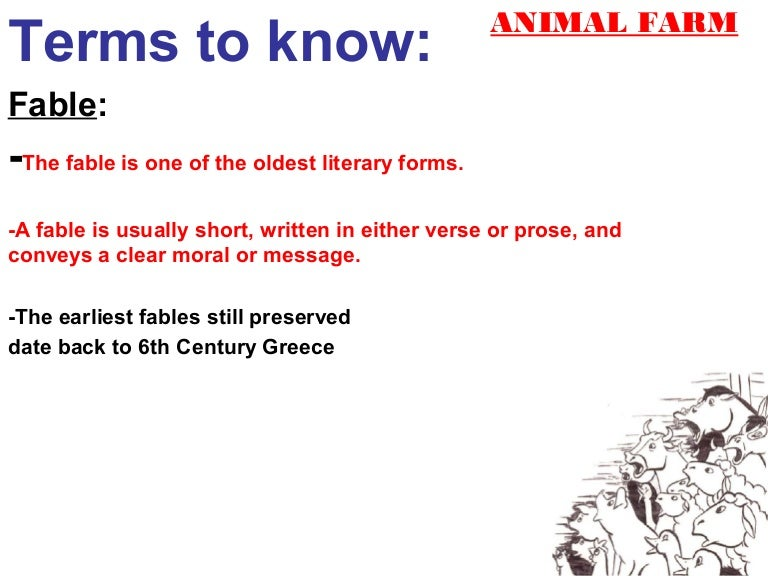 allegory fable satire rh slideshare net PowerPoint Theme Variants Guides PowerPoint 2007