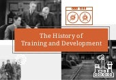History Of Training