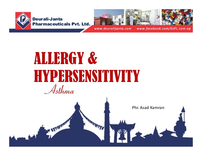 Allergy & hypersensitivity, Asthma