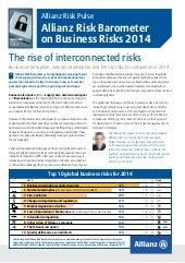 Allianz Risk Barometer 2014