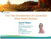 From Leads to Profits - Allied Health Presentation q4 financial