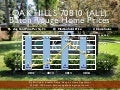 All Oak Hills Subdivisions Baton Rouge LA 70810 Home Sales Prices 2011 to 2014
