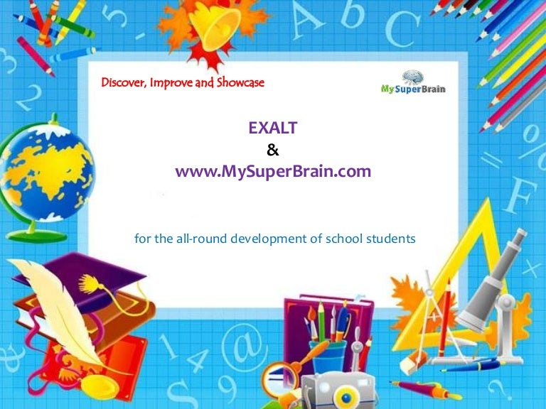 School improvement powerpoint templates image collections holistic development in school students toneelgroepblik templates toneelgroepblik Images