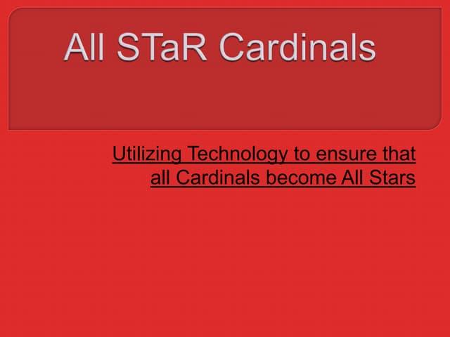 All S Ta R Cardinals