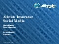 BDI 11/12 The Social Consumer - Allstate Presentation