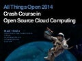 Crash Course in Cloud Computing