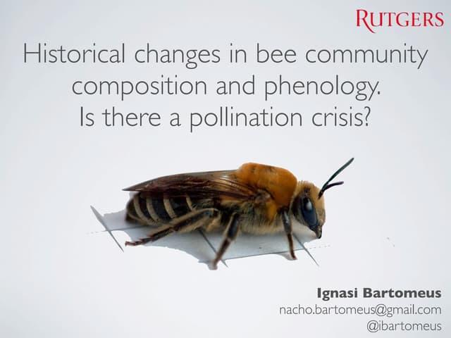 Pollination Declines- SLU talk