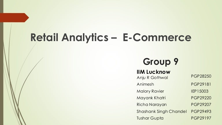 All You Wanted To Know About Analytics In E Commerce Amazon Ebay F
