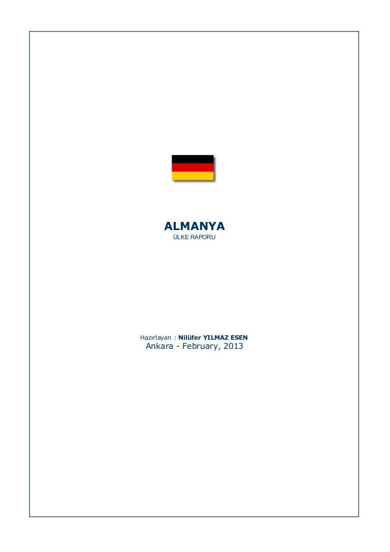 Almanya nüfusu. Temel Bilgiler