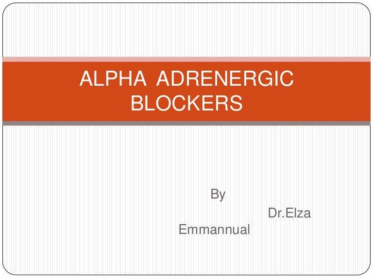 alpha blockers, Skeleton