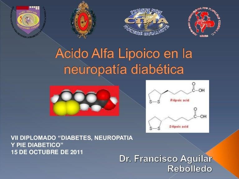 diabetes acetil l-carnitina ácido alfa lipoico