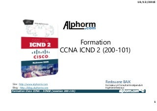 Alphorm.com Formation Cisco ICND2